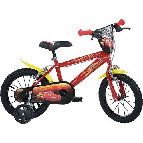 Dino Disney Cars 3 14 Zoll 24 cm Jungen Felgenbremse Rot Kinderfahrräder