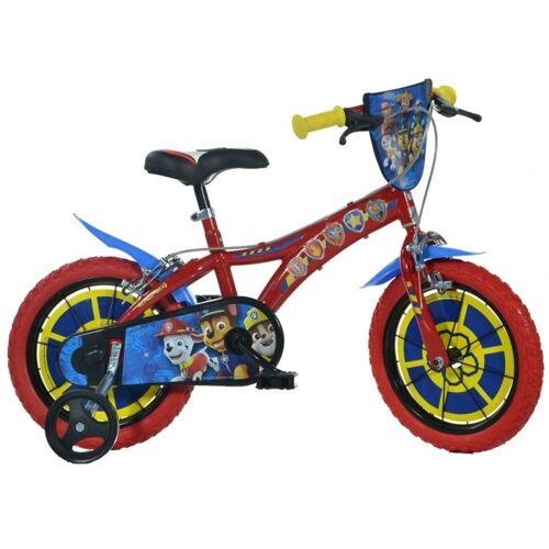 Dino Paw Patrol 14 Zoll 24 cm Jungen Felgenbremse Rot Kinderfahrräder