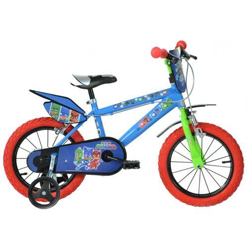 Dino PJ Masks 16 Zoll 27 cm Jungen Felgenbremse Blau Kinderfahrräder