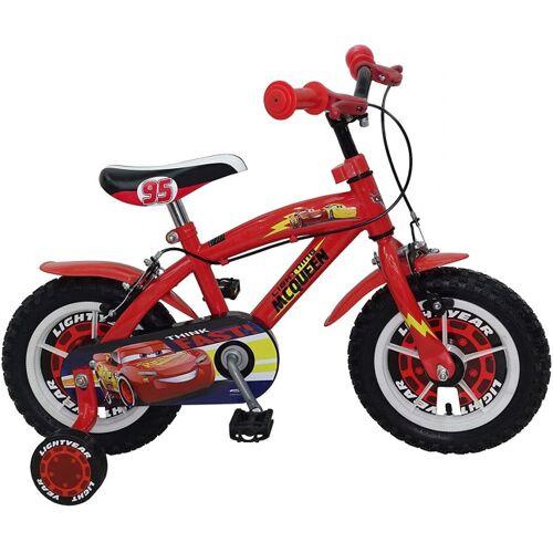 Disney Cars 12 Zoll 21,5 cm Jungen Felgenbremse Rot Kinderfahrräder