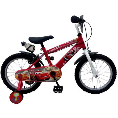 Disney Cars 16 Zoll 25,4 cm Jungen Felgenbremse Rot Kinderfahrräder