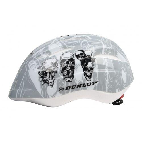 Dunlop Fahrradhelm Kind Schädel Größe 48/52 cm grau