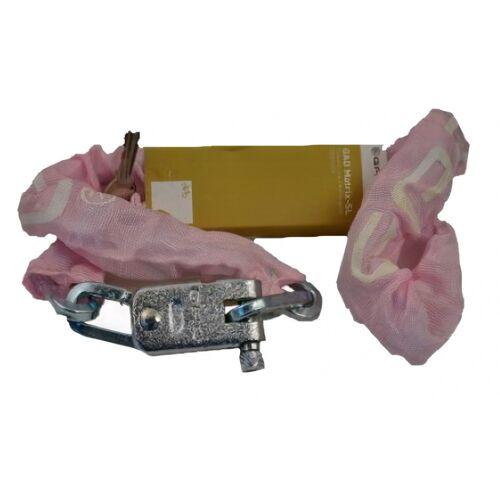 GAD kettenschloss Matrix SL 110 cm Stahl/Messing rosa