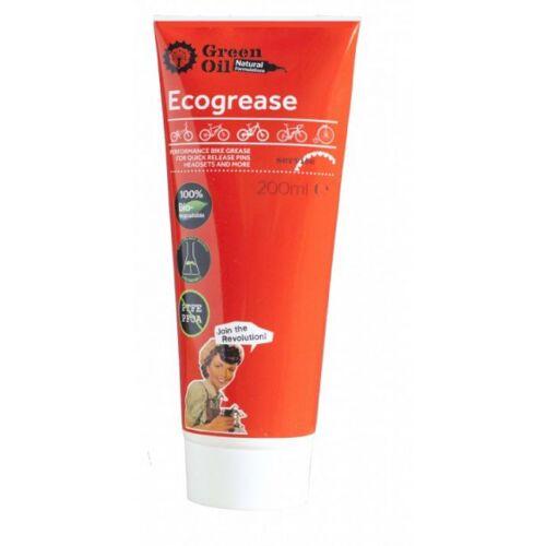 Green Oil montagefett Ecogrease 200ml rot