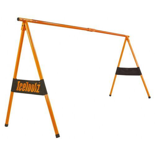 IceToolz fahrradmessestand P412277 cm orangefarbener Stahl 2 teilig