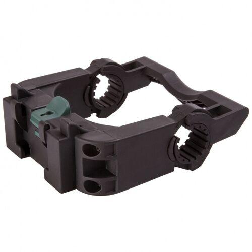 M-Wave M Wave adapter Lenkerhalterung für Fahrradkörbe und  taschen schwarz
