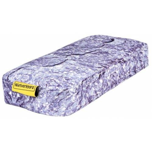 Niet Verkeerd Gepäckträger Kissen Stone grau 32 cm