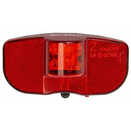 Smart rückleuchte Gepäckträger LED rot/schwarz