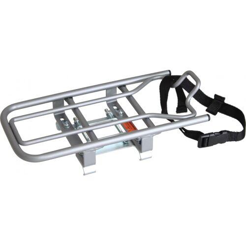 Steco Universal E Bike Halterung für Kindersitze Silber