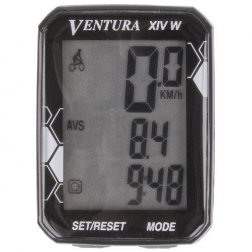 Ventura fahrradcomputer XIV Wdrahtlos schwarz 14 Funktionen