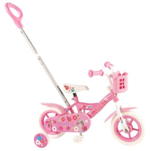 Yipeeh Flowerie 10 Zoll 18 cm Mädchen Über Treppen Rosa Kinderfahrräder