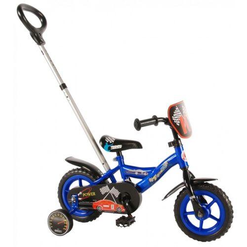 Yipeeh Power 10 Zoll 18 cm Jungen Über Treppen Blau Kinderfahrräder