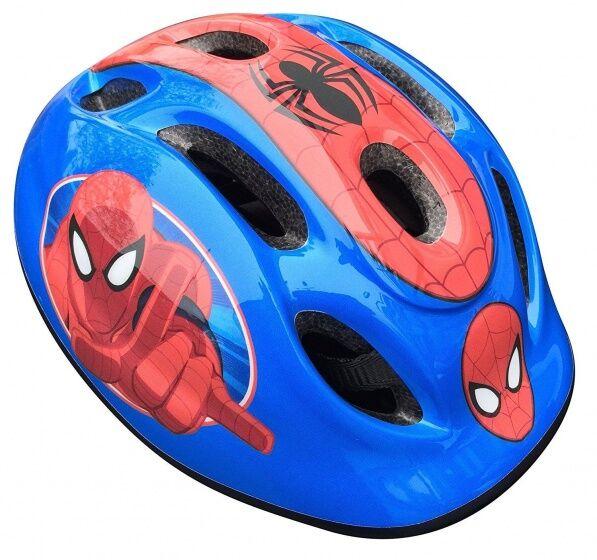Marvel Kinderhelm Spider Man blau / rot Größe 50/56