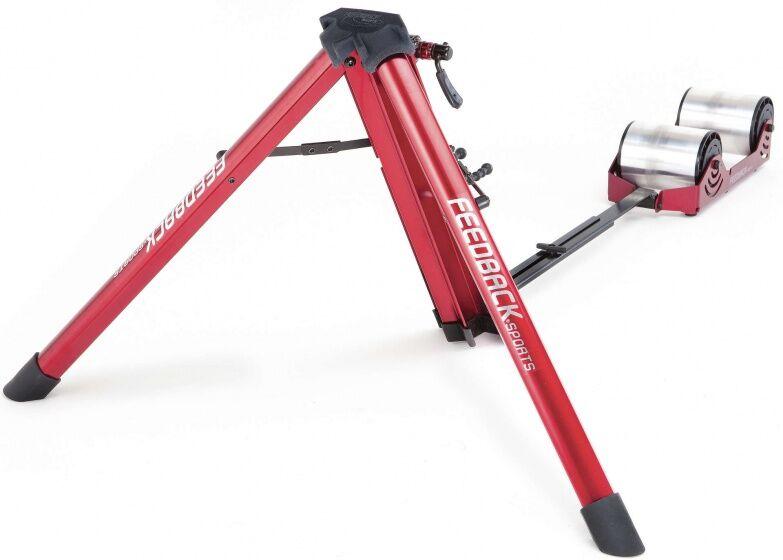 Feedback Fietstrainer Omnium Portable (progres. weerstand) Unisex Rot