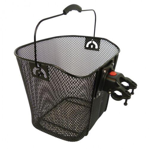 Dresco fahrradkorb für 13 Liter Stahl schwarz