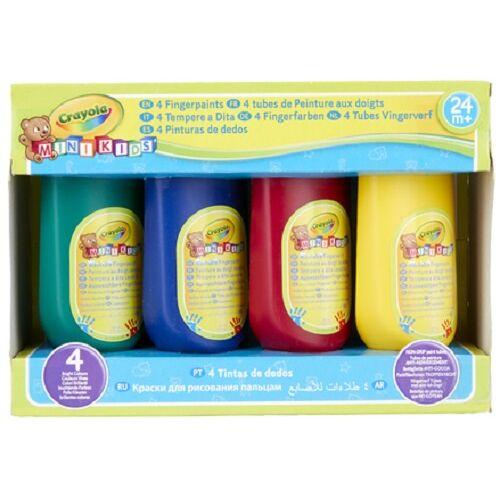 Crayola fingerfarbe abwaschbar 147 ml 4 Stück