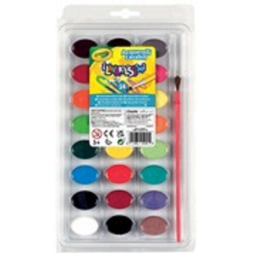 Crayola aquarell abwaschbar 24 Farben