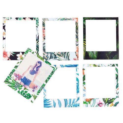 Doiy bilderrahmen magnetisch tropisch 18,5 cm grün 6 Stück