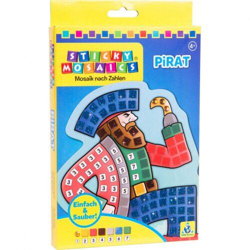Sticky Mosaics mosaike klebrige Mosaike Pirat Junior blau