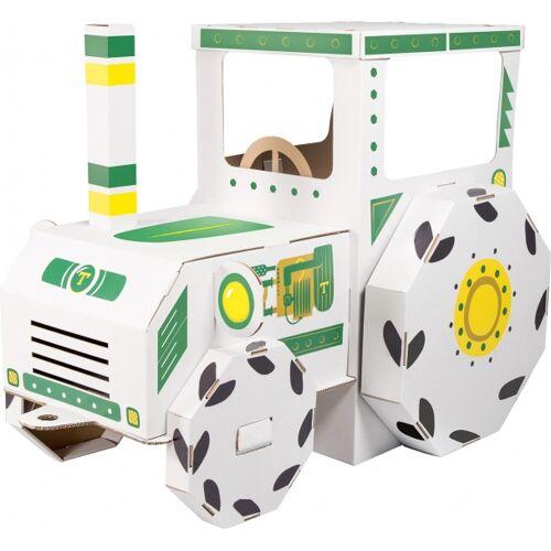 Small Foot spielhaus Traktorkarton Junior 123 x 69 x 90 cm