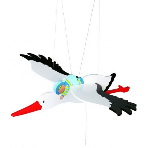 Goki Schwimmende Figur Storch Mit Blue * baby54 cm