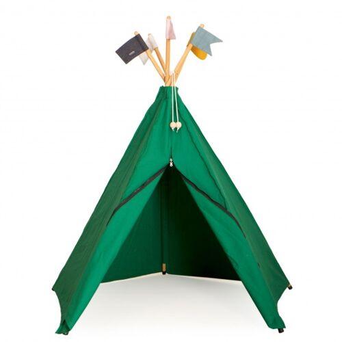 Roommate Hippie Tipizelt Grün Junior