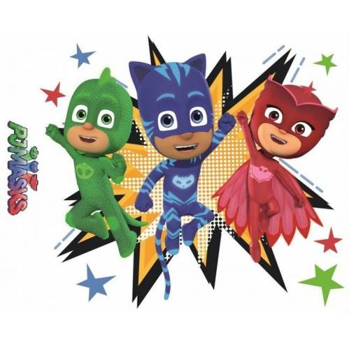 Arditex wandaufkleber PJ Masken Pyjama Helden