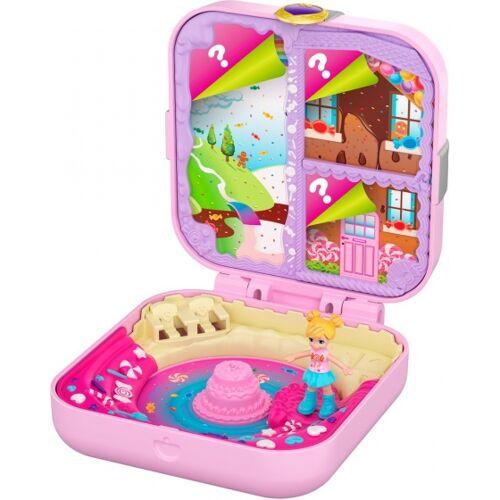 Mattel Versteckte Verstecke der Polly Pocket Snoepjesfabriek