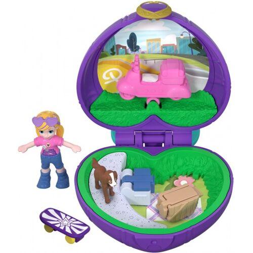 Mattel Polly Pocket Picknick lila 5 x 4,5 x 1 cm