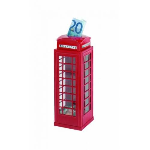 Goki Metal Box Rote Telefonzelle