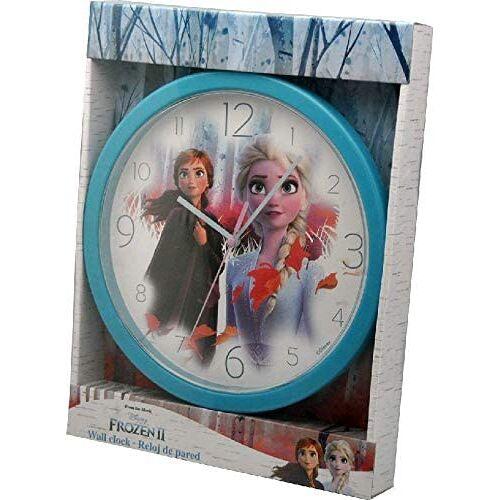 Kids Licensing wanduhr Uhr Frozen II Mädchen 23 cm blau