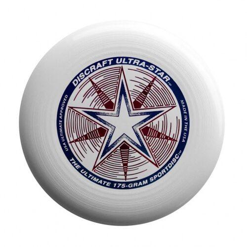 Discraft Ultra Star Frisbee 27,5 cm 175 Gramm weiß