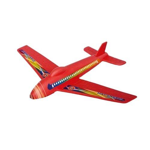 Günther flugzeug Turbo Segelflugzeug Junior 25 x 20 cm rot/gelb