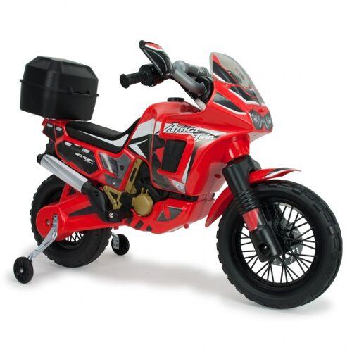 Injusa Batteriefahrzeug Motorrad Honda Africa 6V 100 cm rot