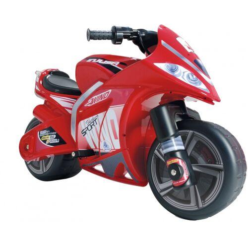 Injusa Batterie Fahrzeug Motorrad Wind 6V 100 cm rot