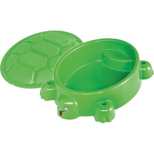 Paradiso Toys sandkasten schildpad95,5 x 68 cm grün
