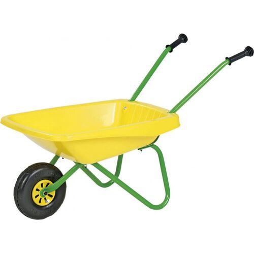 Rolly Toys Kunststoff Schubkarre gelb