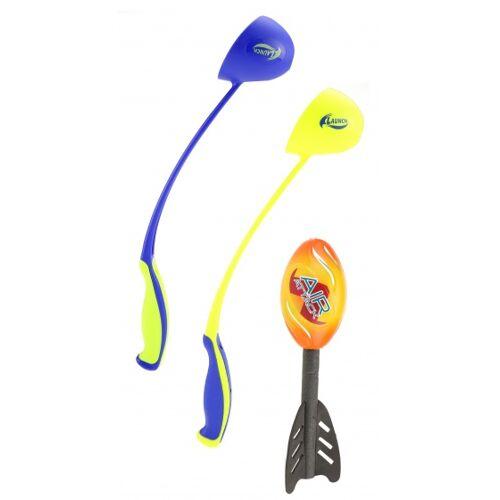 Toi-Toys Toi Toys raketenspiel 3 teilig gelb/orange