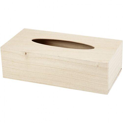Creotime holz Dekor Taschentuchbox