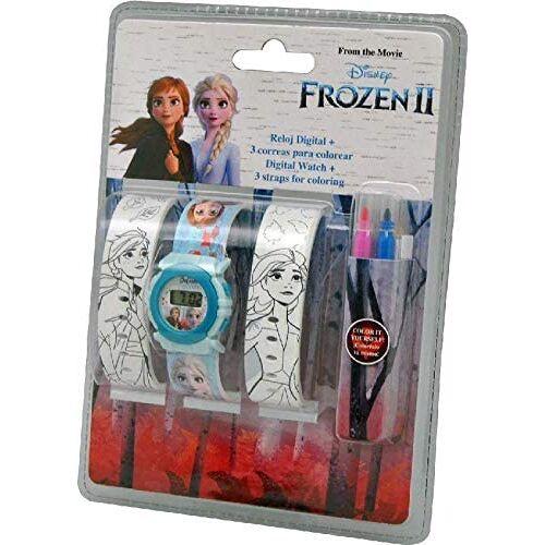 Kids Licensing armbanduhr DIY Set Frozen II Mädchen 33 cm blau