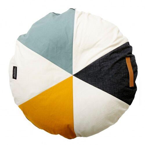 Roommate pouffe Karussell Junior 90 x 90 x 90 x 30 cm