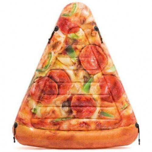 Intex Luftkissen Pizza Punkt 175 x 145 cm braun