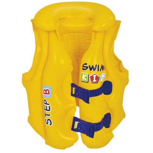 Jilong schwimmweste Junior 46 x 42 cm PVC gelb 3 6 Jahre