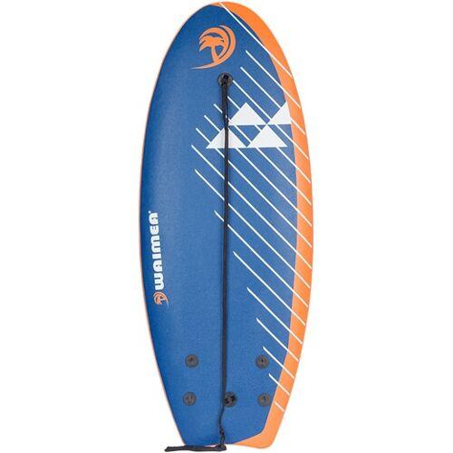 Waimea surfbrett Slick 114 x 45 cm blau/weiß