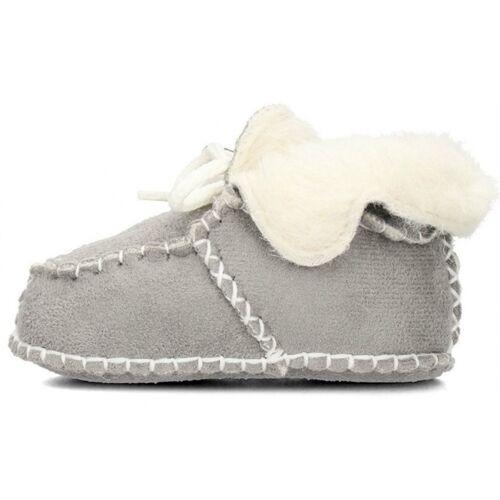 Playshoes babyschuhe Schaffell grau Größe 16/17