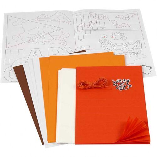 Creotime DIYhaloween Papier/Karton Paket Junior 55 Stück