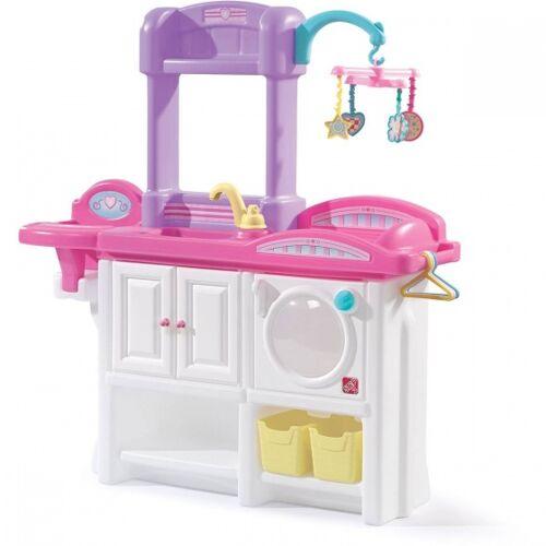 Step2 kommode Love & Care Deluxe Kinderzimmer weiß/rosa 95 cm