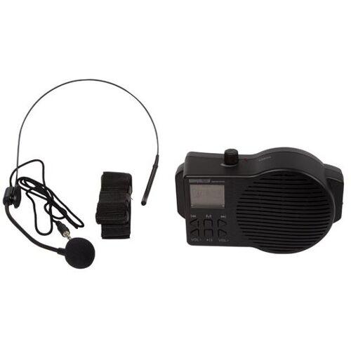 HQ-Power HQ Power sprachverstärker und FM Radio 5 Watt schwarz
