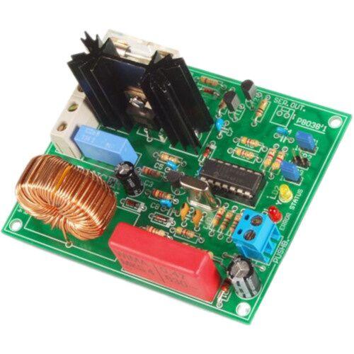 Velleman leistungsstarker Dimmer 90 x 75 mm 110 125V/220 240V AC