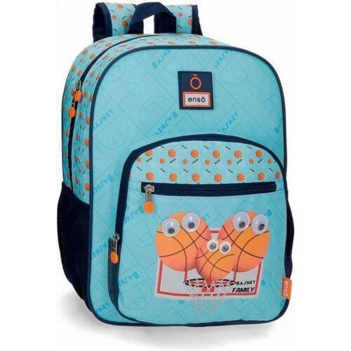 Enso rucksack Basketball Junior 13 L 38 x 30 cm Polyester blau
